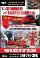 TM Skid Splitter Log Splitter Attachment
