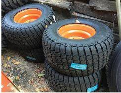 Tire and Wheel sets for Skidsteers