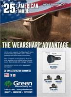Green Manufacturing Wearsharp Teeth
