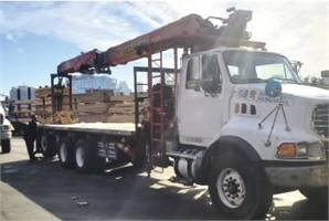 2007 Sterling with 92-ft Fassi F390 Boom
