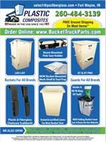 Bucket Covers & Liners, Fiberglass Guards/Covers, Custom Fiber Glass, Replacement Buckets & Repair