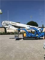 XTJ 121 Spider Platform 121ft Working Height