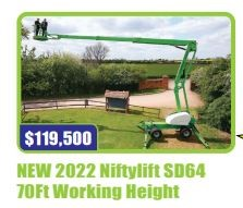 NEW 2021 Niftylift SD64