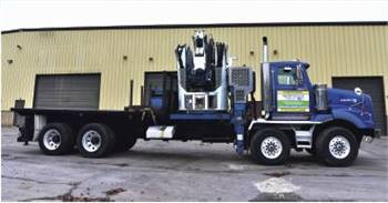 2007 Western Star Twin Steer with Cormach 125