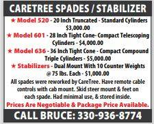 Stablizers- Dual Mount with counter weights