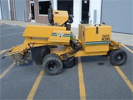Vermeer SC 352 with Diesel motor