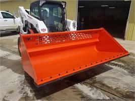 TM Manufacturing Skid Steer Utility Bucket