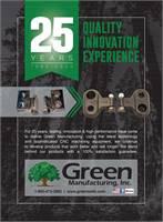 Green Manufacturing Stump Grinder Teeth