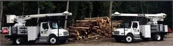 Terex XT60/70 75 Ft Rear Mount Bucket Trucks for Rent