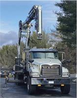 NEW 2020 Mack Granite / Cormach Rear Mounted Crane