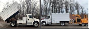 Freightliner Chipper Trucks for Rent