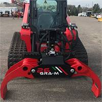 Full Size Bypass Grapple Skid Steer Attachment